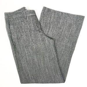 Express Editor Black & White Tweed Dress Pants